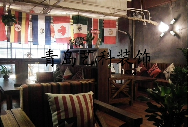新加坡咖啡馆设计东南亚风格咖啡馆装修设计