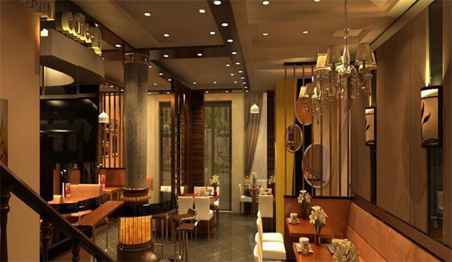 一家优美舒适的咖啡店呢?下面郑州丰伟装饰来介绍咖啡店如何装修设计。 在空间布置上可通过虚的手法遮挡视线,似隔非隔,隔中有透,实中有虚。例如利用布慢、漏墙、珠帘、屏风、竹篱、木栅等缓冲通道与视线。 咖啡厅设计需要掌握的几个重要细节:  1、咖啡厅要有自己的风格:咖啡厅是给大家享受的地方因此店铺内外设置要精心打扮,尽量制造温馨的场景。多花心思会给顾客带来别样的感觉,这样一定会给自己带来很多的顾客,从而你自己的名声也就打了出去。 2、咖啡厅的经营内容要丰富:要有一定的活动,而且活动要新颖,要富有创意,这样才会吸