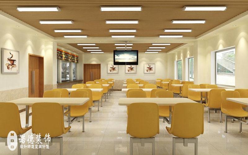 职工食堂装修设计 职工餐厅装修设计的原则 - 企业 -e