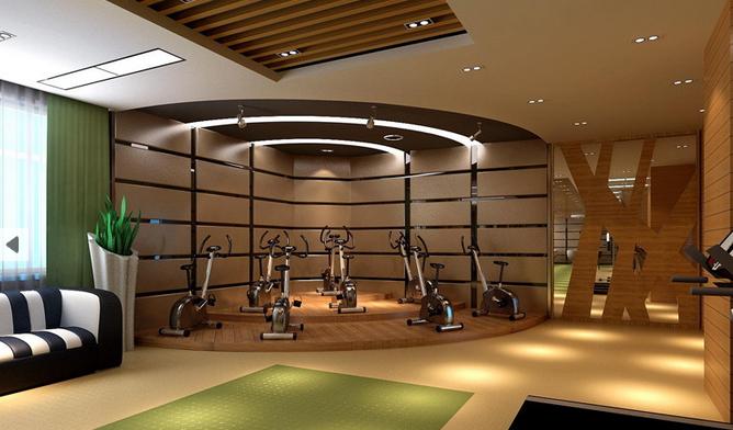 成都健身房装修设计要点以及注意事项|成都健身会所装修设计