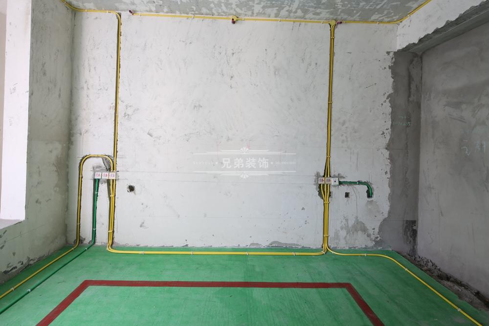 装修给排水系统图