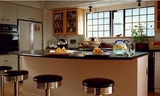 别墅装修设计:新中式吧台私人定制