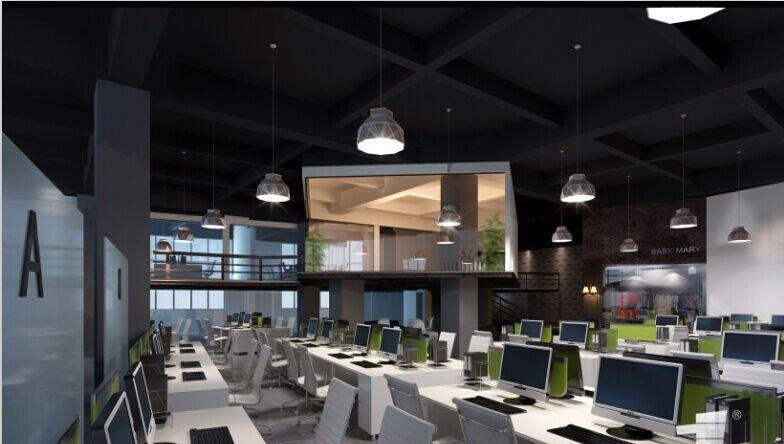 最新贵阳办公室装修公司设计案例欣赏