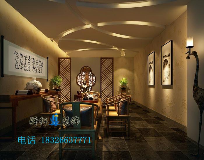 合肥茶文化是中国传统文化,茶艺里面蕴含了古老的中国茶道艺术,合肥茶楼装修建立在弘扬中国茶道艺术的基础上,设计一个茶艺美学的主题茶馆,现代中式茶楼装修设计整体的色调要浓淡相宜,淡雅清新。力求设计一个怀古情调的中式浪漫风情,给顾客自然轻松休闲的品茶新体验。合肥驿轩装饰提供免费量房、免费设计、免费报价服务,多一份选择,多一份保障。装修热线:18326637771。  合肥茶楼整体空间装修设计 茶楼整体现代中式设计要全方面展示中国古典文化,可以选用朱红色的门窗和青砖墙营造典雅和壮丽,采用现代玻璃和中式结构勾勒出一